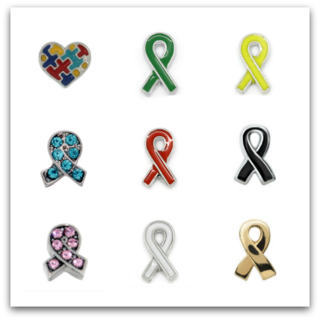 Awareness & Causes Charms