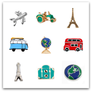 Travel, Transport, & Holiday Charms