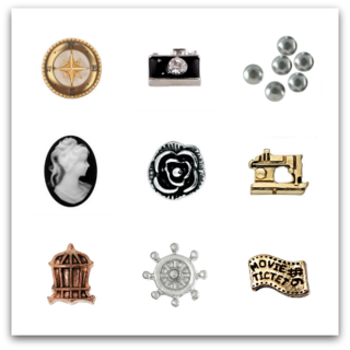 Vintage Treasures Charms