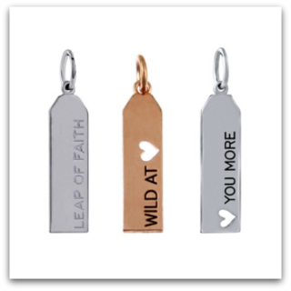 Affirmation Tags & Rings
