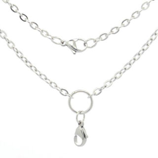 Silver Bellissima Living Lockets Chain - 50cm or 80cm