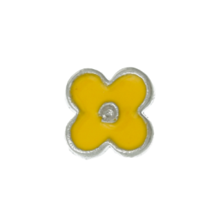 Yellow Flower Charm