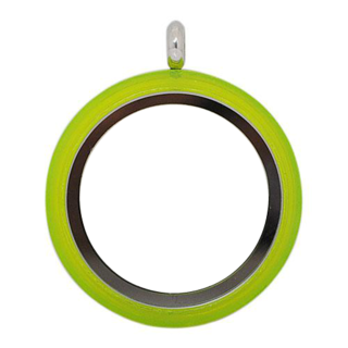 Large Lime Twist Living Locket