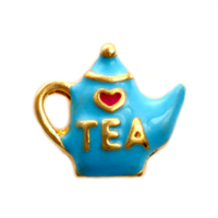 Gold & Blue Teapot