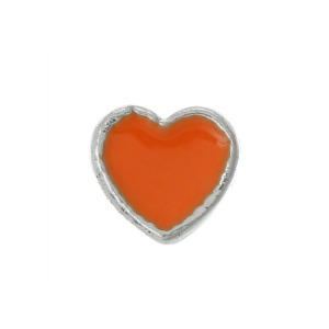 Mini Orange Heart