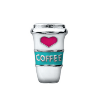 Love Coffee Cup Charm