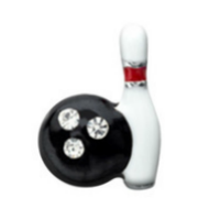 Bowling Pin & Ball