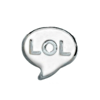 LOL Speech Bubble Charm