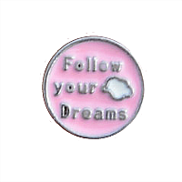 Large Follow Your Dreams Charm