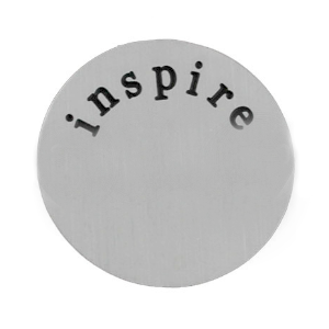Stainless Steel Living Locket Faceplate - inspire