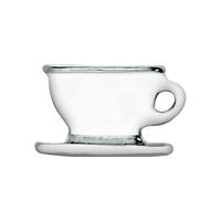 White Tea or Coffee Cup Charm
