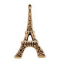 Vintage Gold Eiffel Tower Charm
