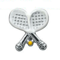 Tennis Racket & Ball Charm