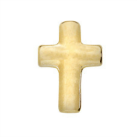 Gold Cross Charm
