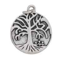 Silver Tree of Life Dangle Charm
