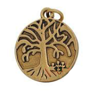 Gold Tree of Life Dangle Charm