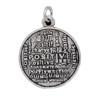 Silver Positive Charm