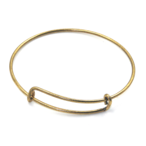 Gold Expandable Base Bangle