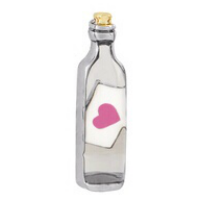Message in a Bottle Charm