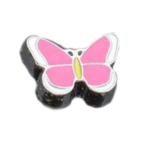 Pretty Pink Butterfly Charm