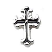 Antique Silver Vintage Cross