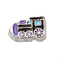 Purple Train Charm