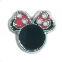 Minnie Mouse Ears Charm