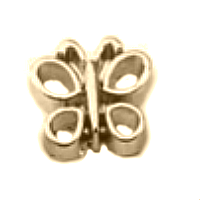 Gold Butterfly Charm