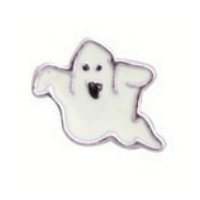 White Ghost Charm