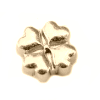 Gold Clover Charm