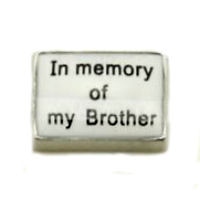 In Memory of My Brother Charm