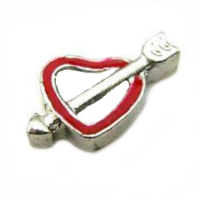 Heart & Arrow Charm