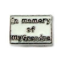 In Memory of My Grandma Charm